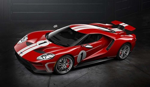 2018 Ford GT Heritage