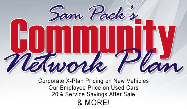 Sam Pack's Community Network Plan