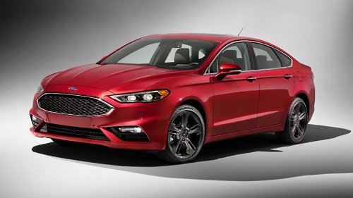 2017 ford fusion sport price