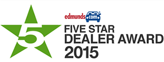 Edmunds Five Star Dealer Award 2015