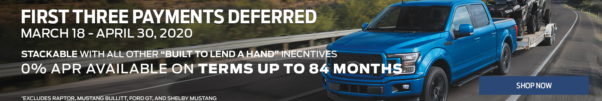 Ford Deferred Payments Srp
