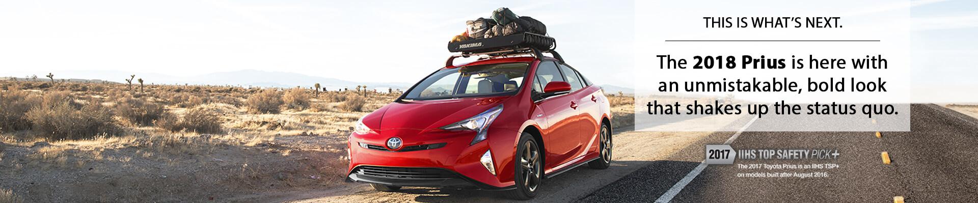 Good 2018 Toyota Prius