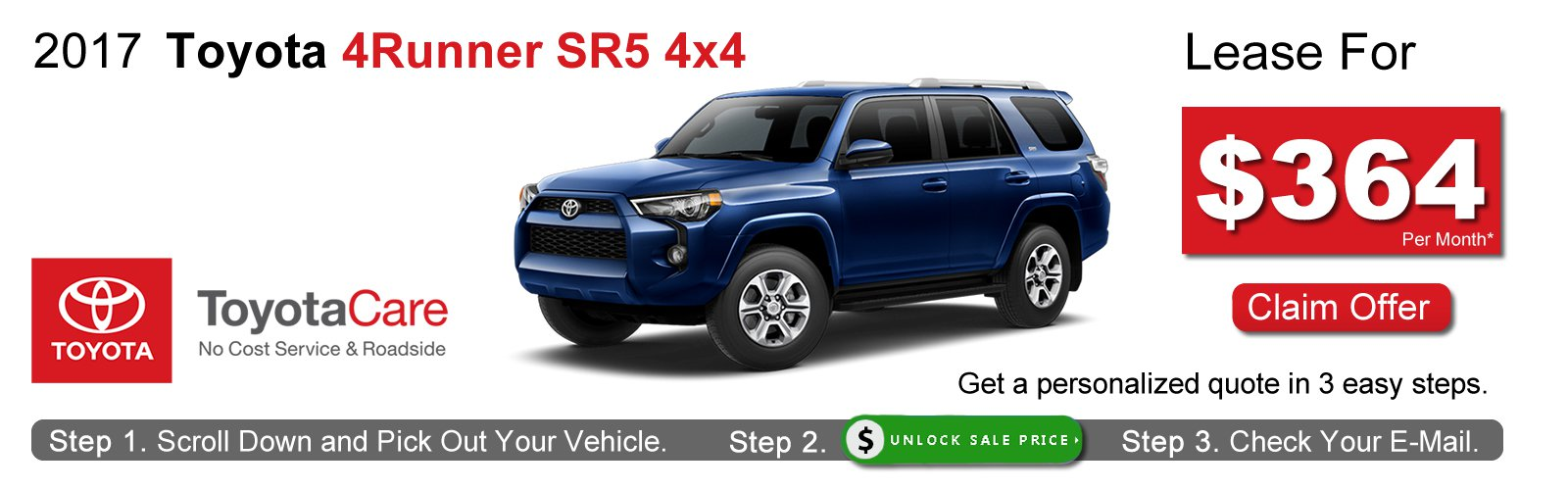 2017 Toyota 4runner Lease Deals Near Boston Ma