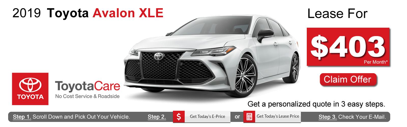 2019 Toyota Avalon Deals near Boston, MA
