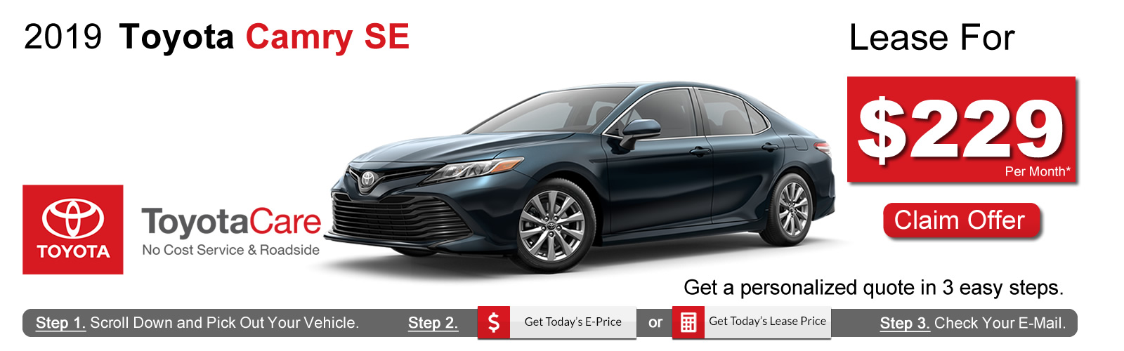 2019 Toyota Camry Deals near Boston, MA