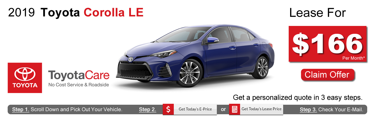 2019 Toyota Corolla Lease Deals near Boston, MA