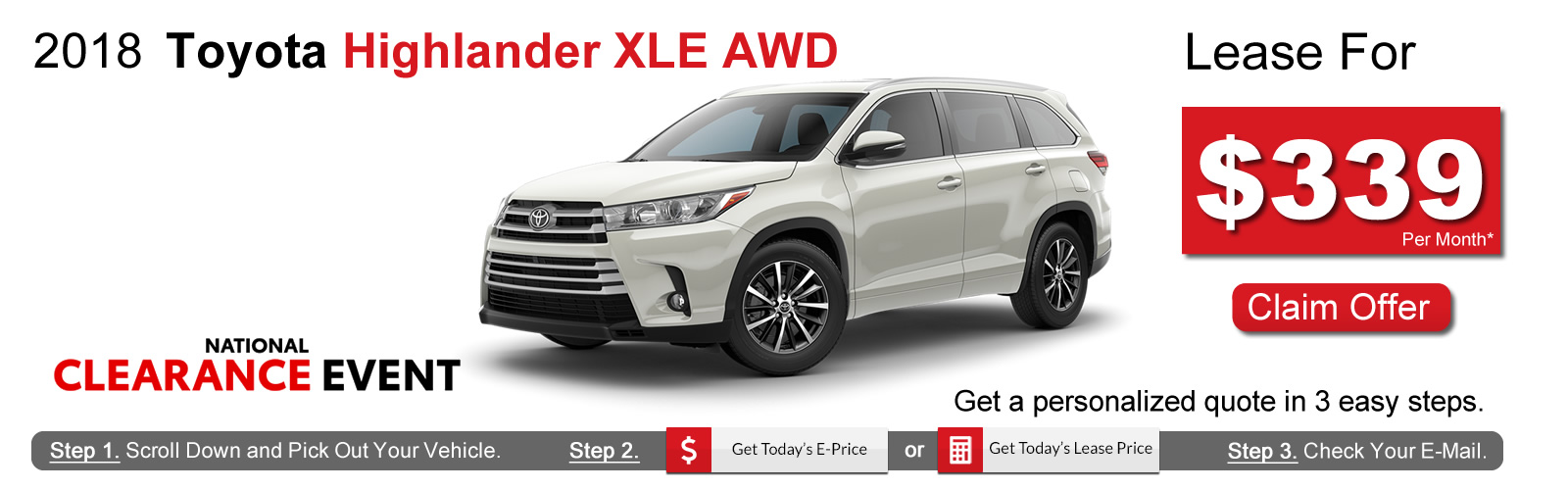 Toyota Highlander Lease >> Toyota Highlander Lease Deals Near Boston Ma