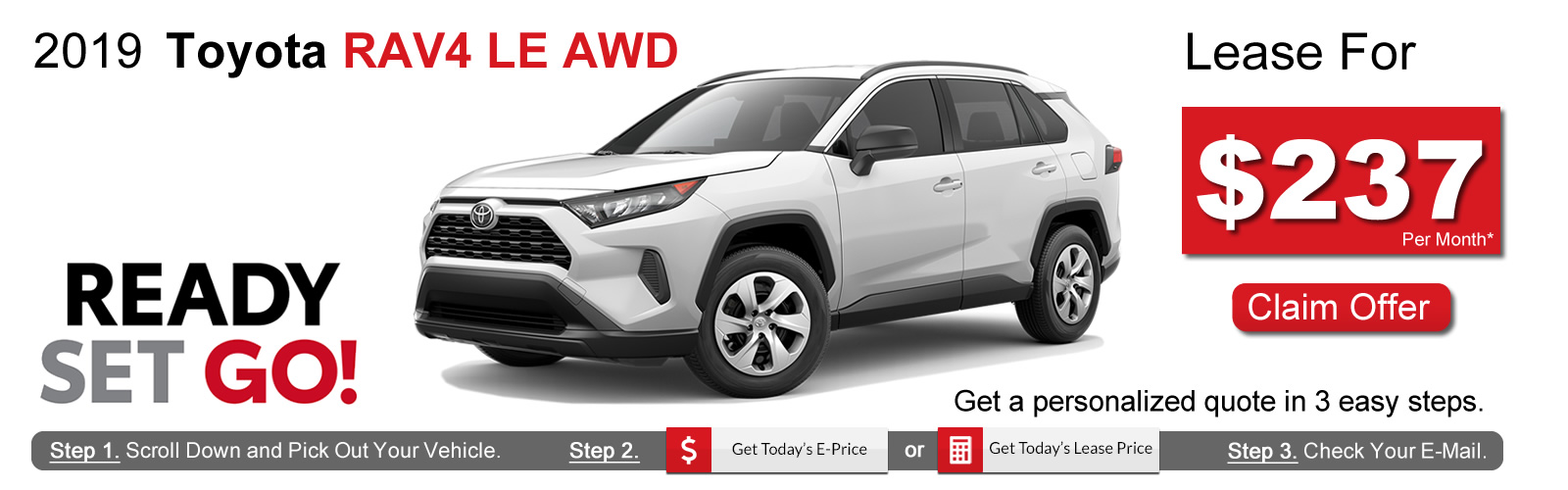 2019 Toyota RAV4 Lease Deals near Boston, MA