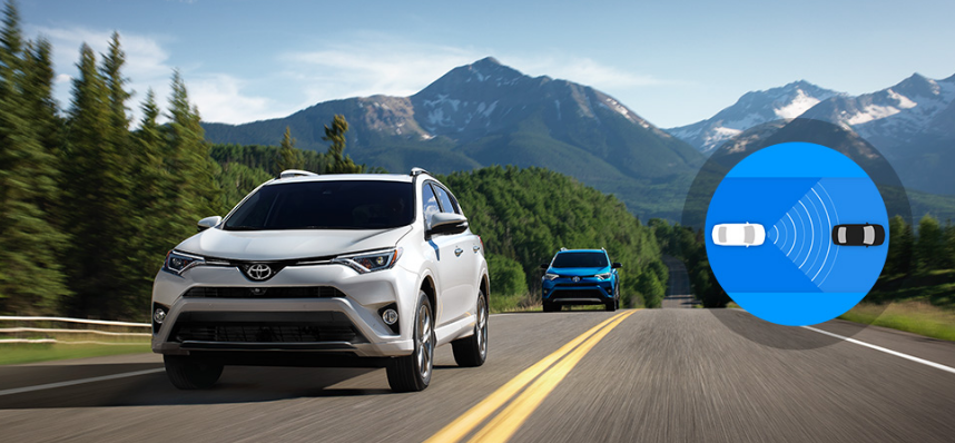 2017 Toyota Rav4 near Boston, Woburn and Danvers Safety Features