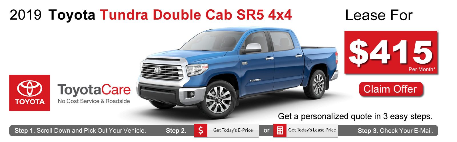 2019 Toyota Tundra Lease Deals near Boston, MA