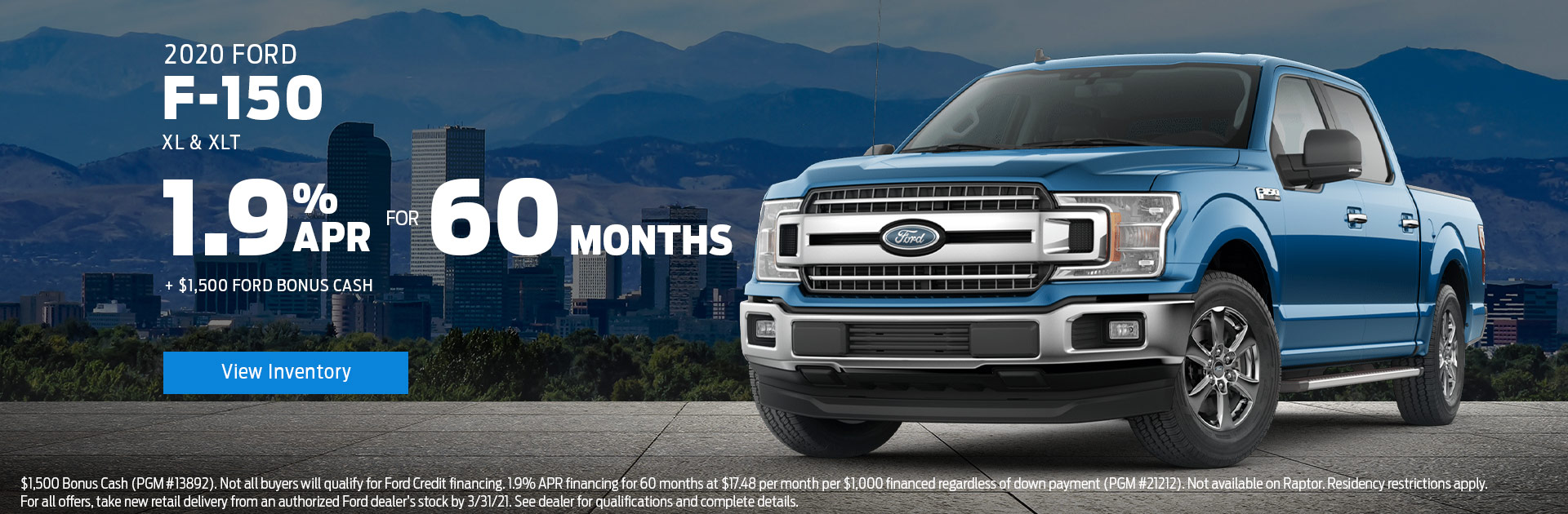 January F 150 Special Offer