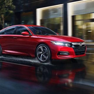 2018 Accord Gallery Ext Red Driving Rain 1400 1x 1
