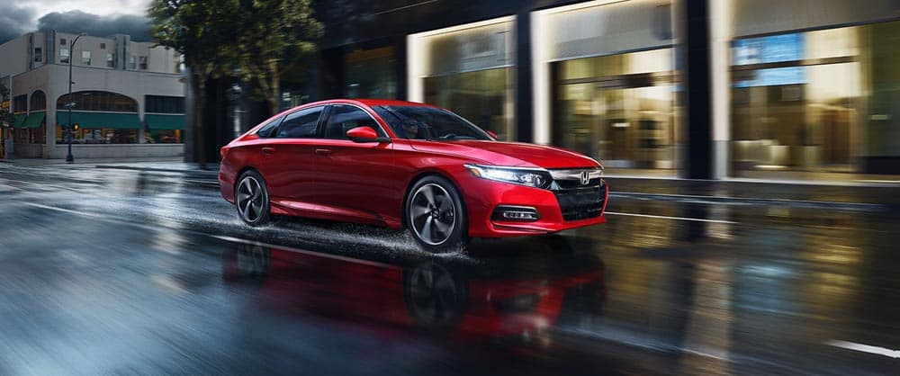 2018 Accord Gallery Ext Red Driving Rain 1400 1x 11