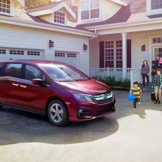 2019 Honda Odyssey Exterior 1 2