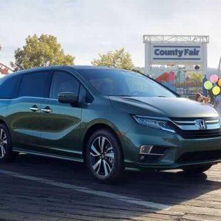 2019 Honda Odyssey Exterior 4 2