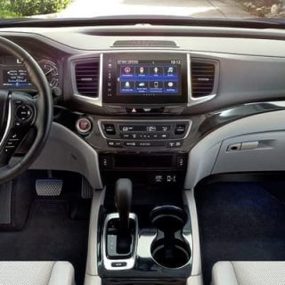 2019 Honda Ridgeline Interior 01