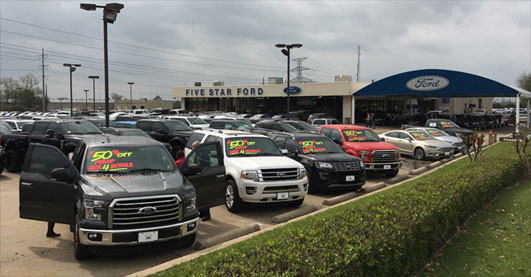 Five Star Ford Plano >> Hail No Everything Must Go