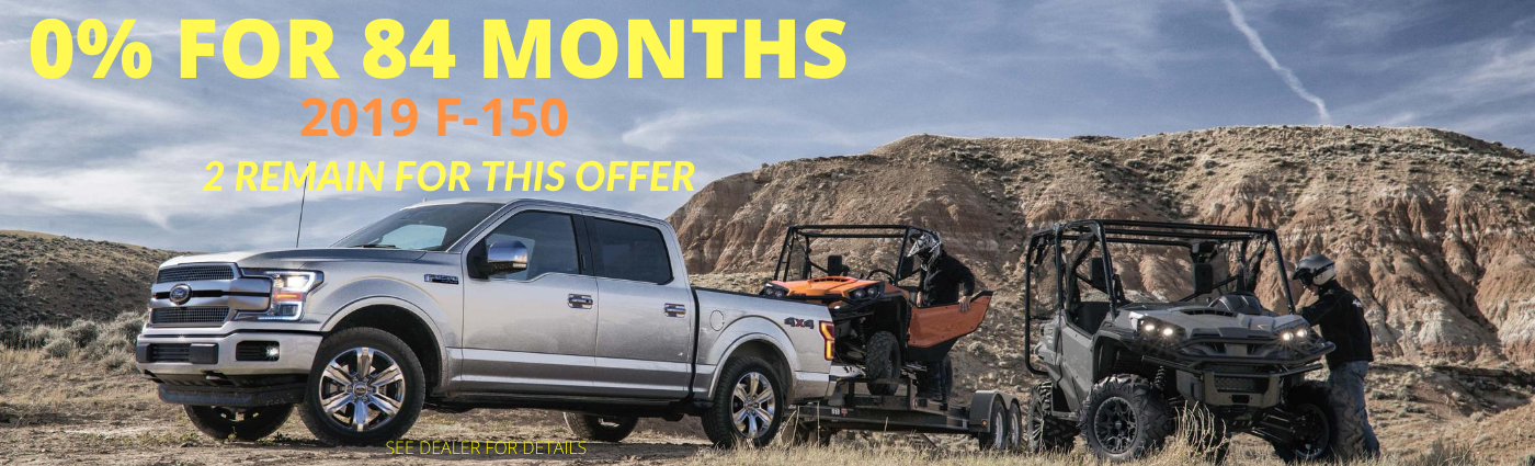 2 Remain For This Offer On 2019 F 150