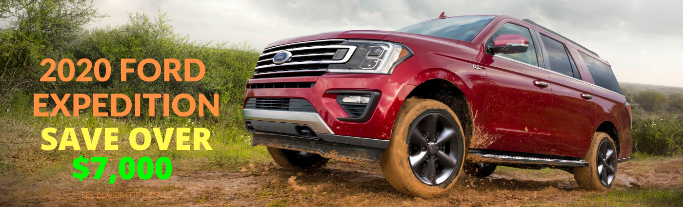 2020 Ford Expedition Landing Page