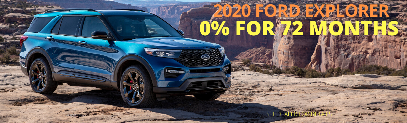 2020 Ford Expedtion Landing Page