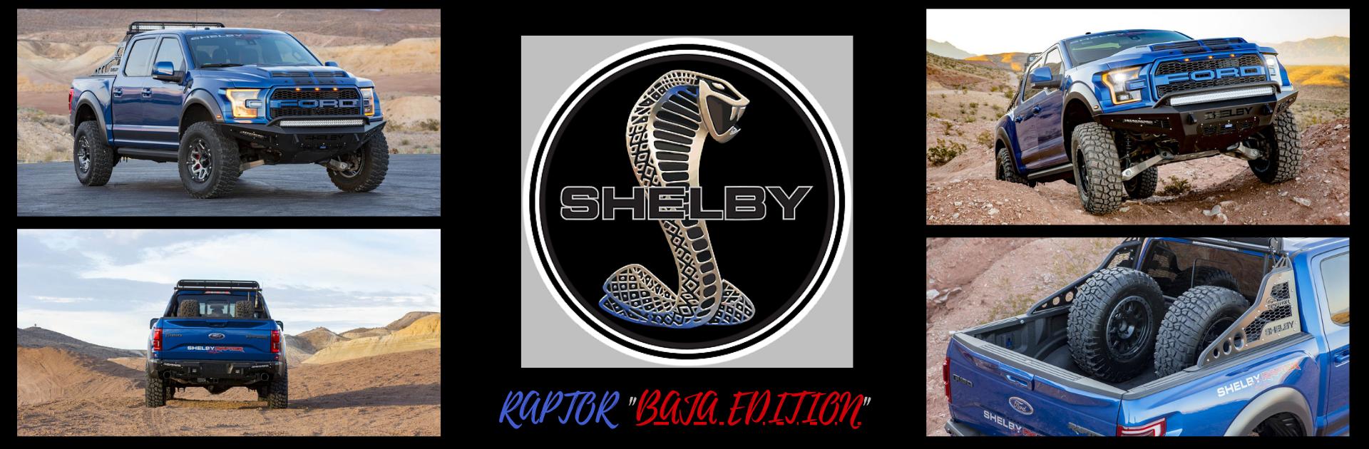 2020 Shelby Raptor Baja Edition