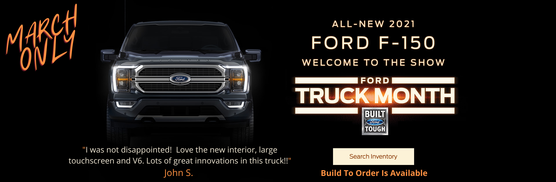 2021 Ford F 150 Truck Month