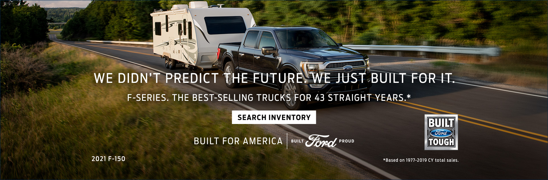 Bozeman Ford 2021 F 150 With Camper