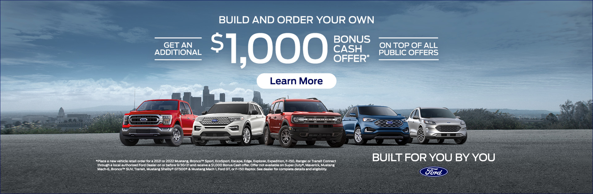 Build And Order Your Own