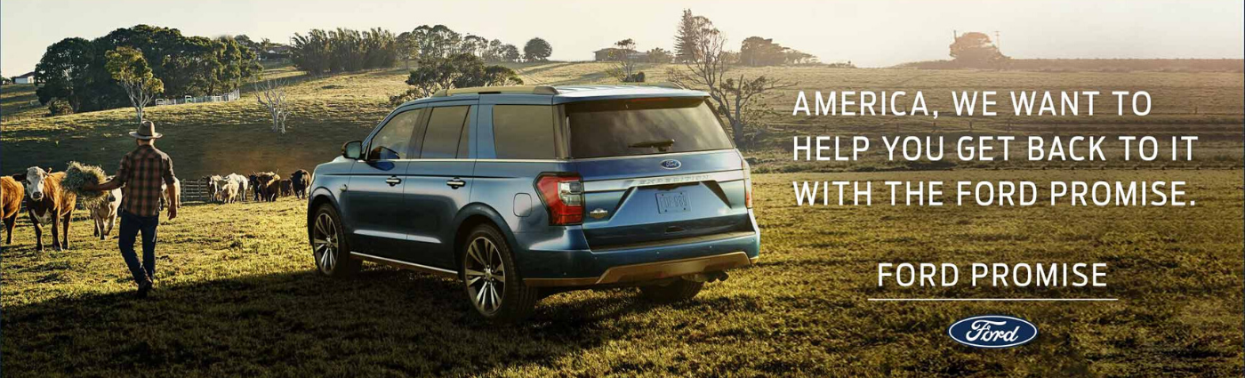 Ford Promise Landing Page