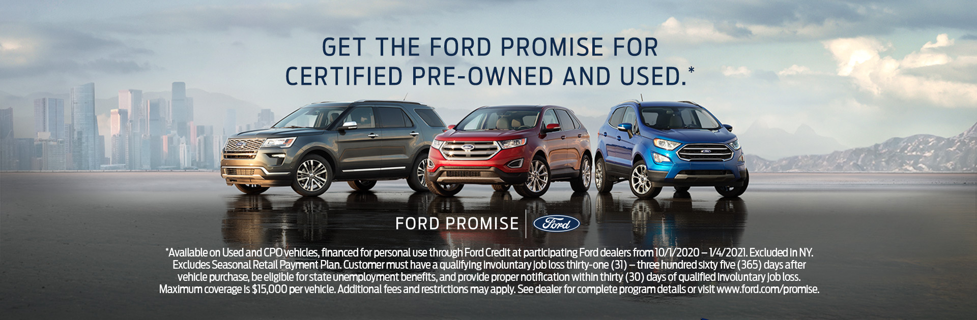 Get The Ford Promise