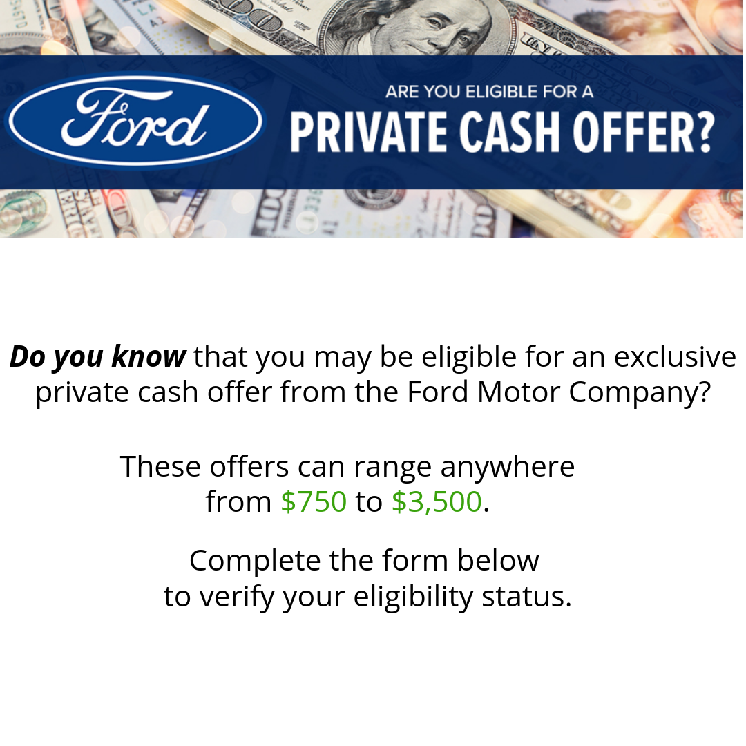 Ford Private Cash Offer Get Up To 3 500 Off A New Ford Bozeman