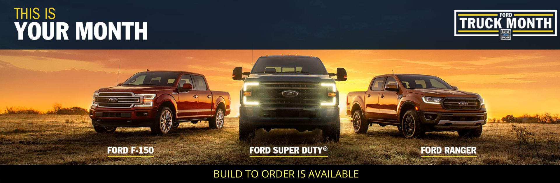 Ford Truck Month Super Duty F 150 Ranger