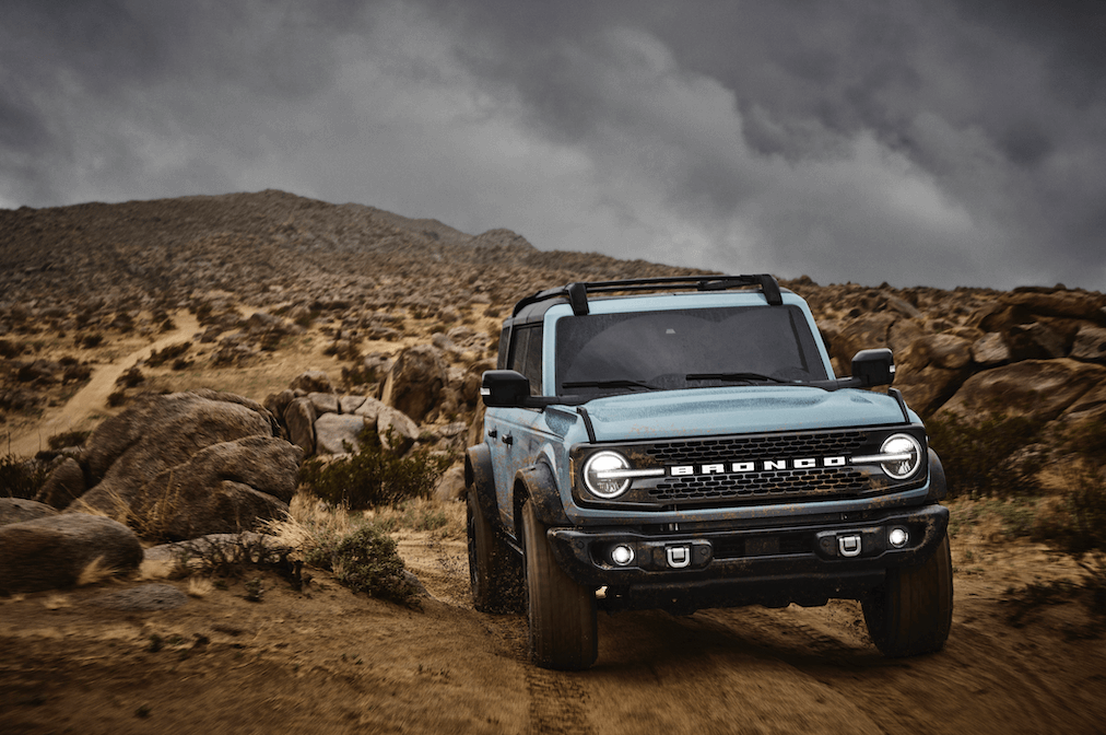 2021 Ford Bronco Blue