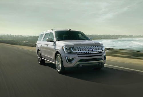2021 Ford Expedition White Open Road