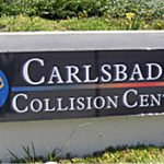 Carlsbad Collision Center Front SIgn
