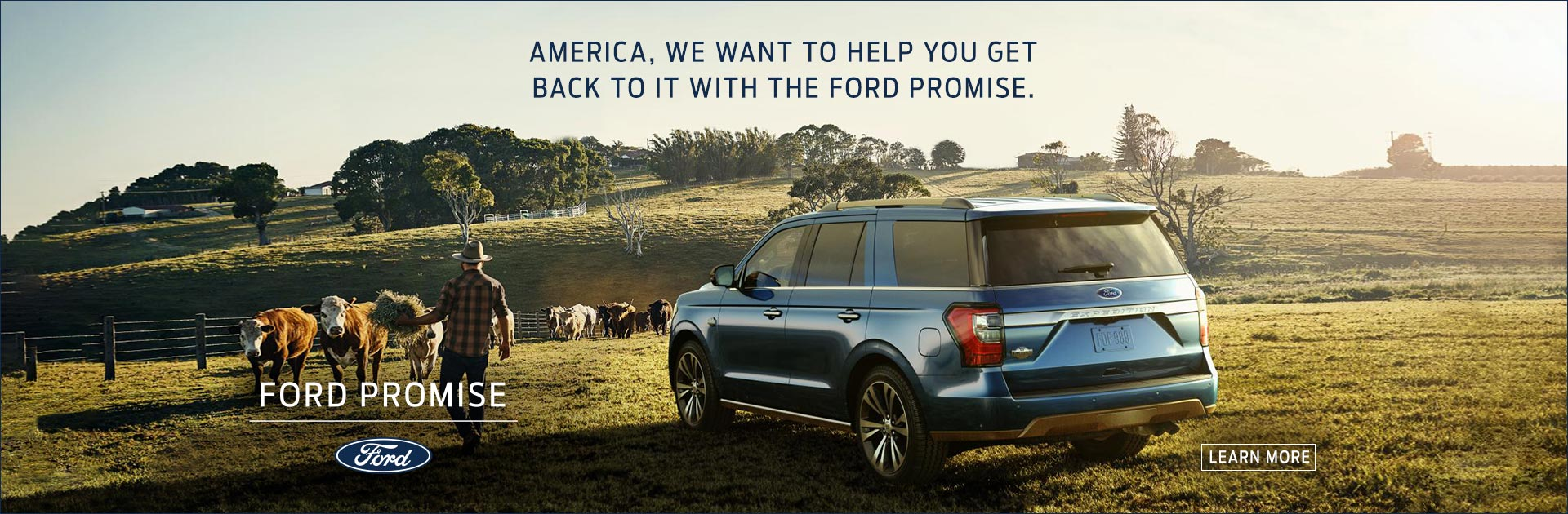 Ford Promise Banner