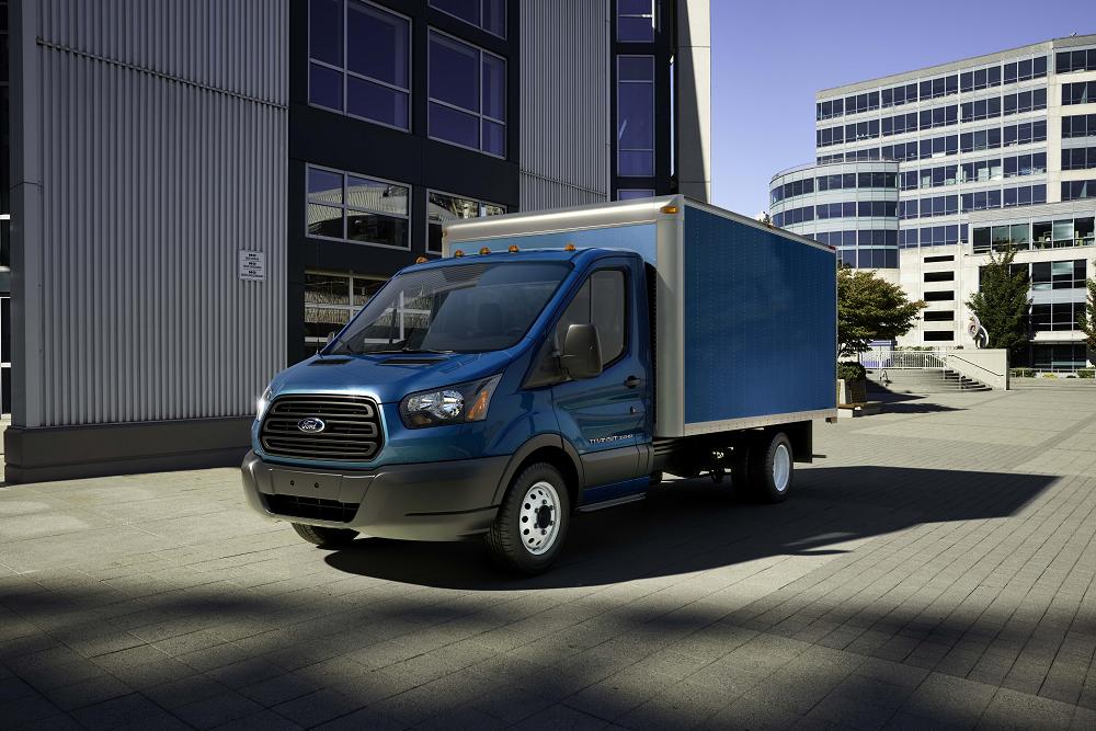 2018 Ford Transit Blue