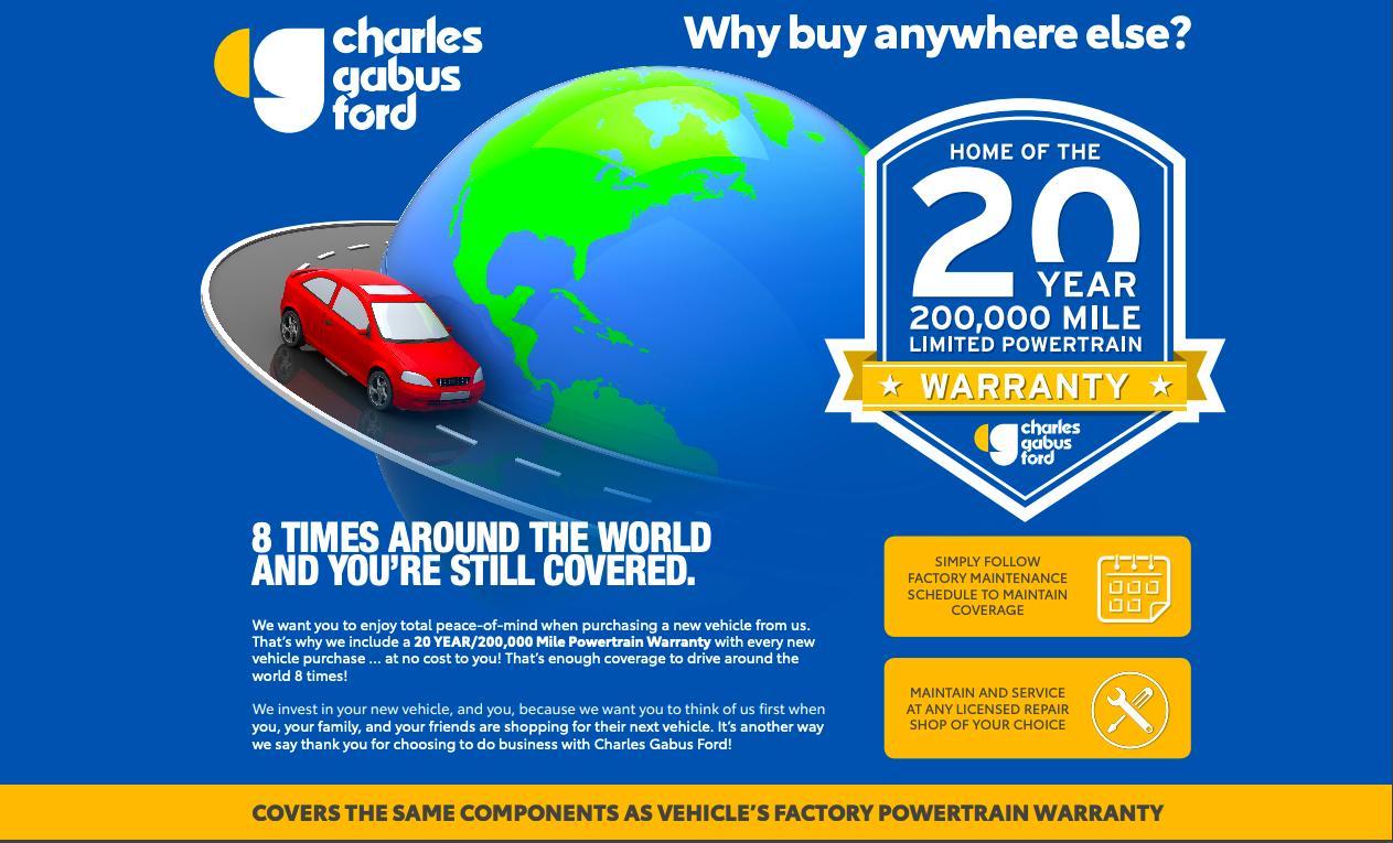 Charles Gabus Ford >> 200k Mile Warranty Faq