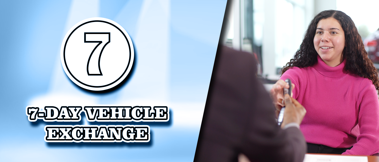 3-Day Guarantee or 7-Day Vehicle Exchange at Clay Cooley Hyundai of Rockwall