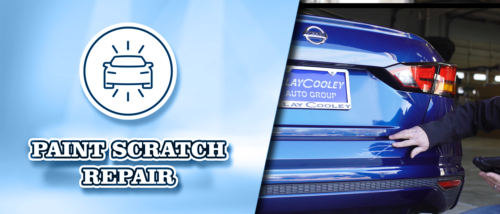 Paint Scratch Repair at Clay Cooley Hyundai of Rockwall