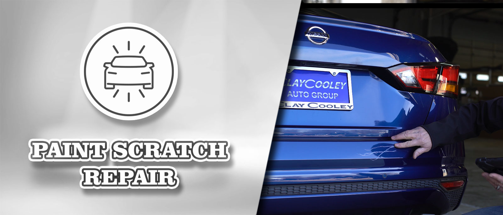 Paint Scratch Repair at Clay Cooley Volkswagen of Park Cities