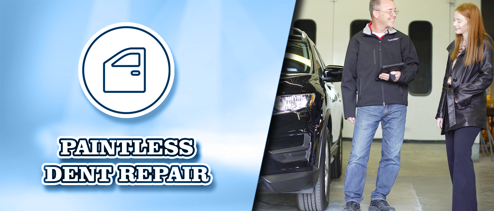 Paintless Dent Repair at Clay Cooley Hyundai of Rockwall