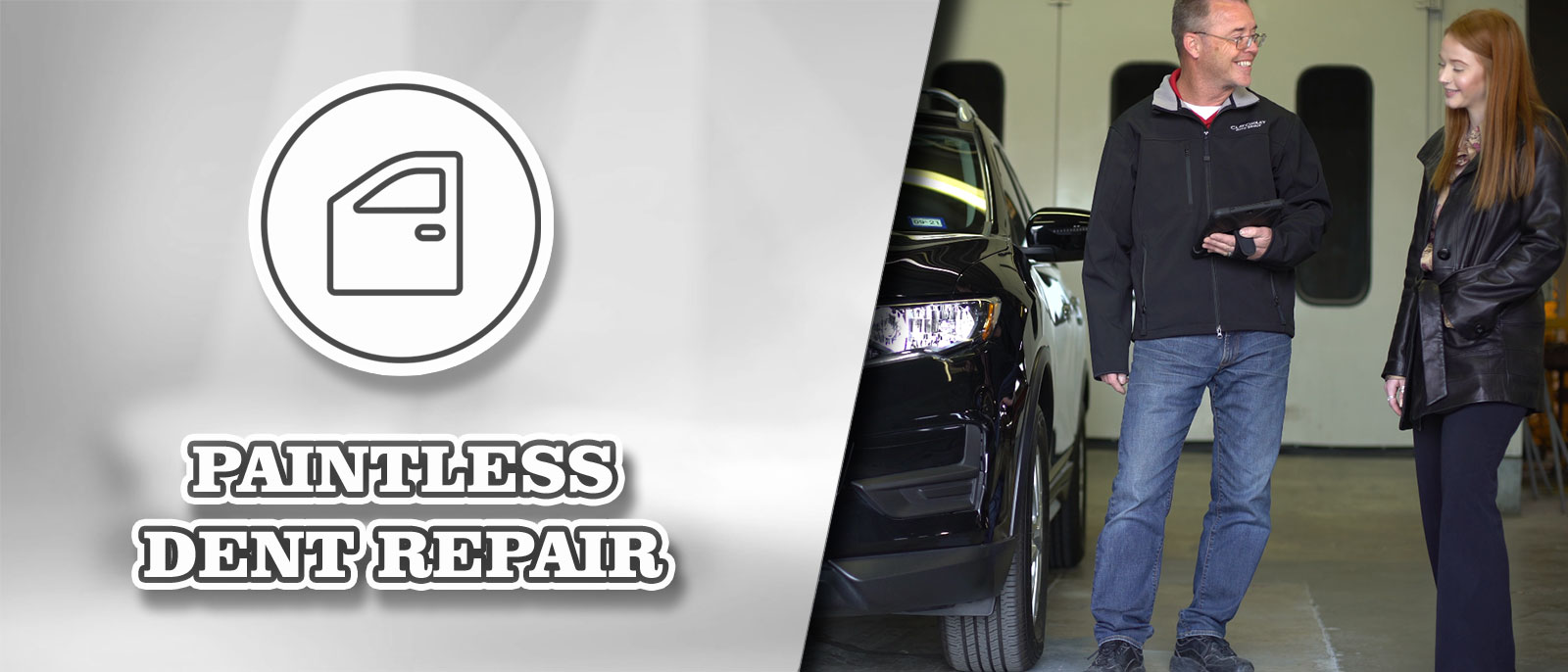 Paintless Dent Repair at Clay Cooley Volkswagen of Park Cities