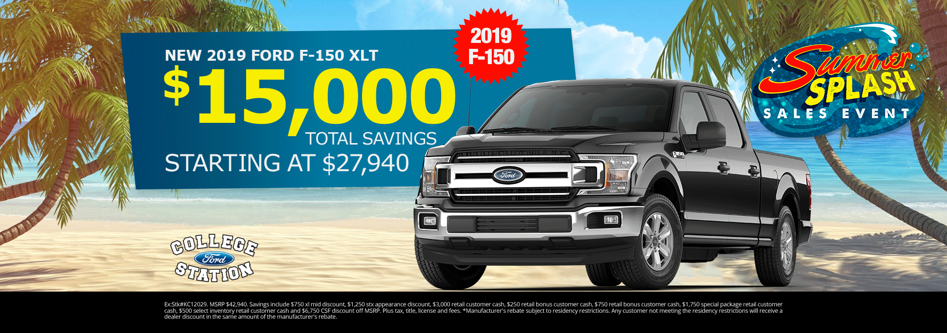 College Station Ford >> All New Ford Specials College Station Ford Deals On New