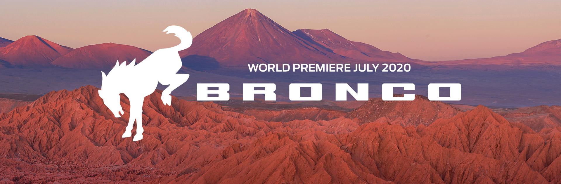 Bronco World Premiere