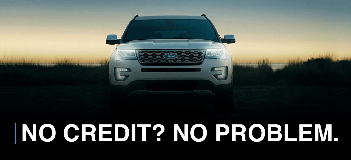 No Credit? No Problem