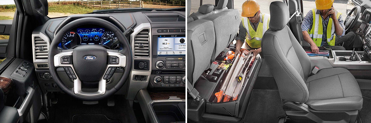 2018 Ford F-250 Interior Features