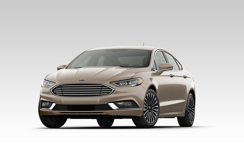 The 2018 Ford Fusion
