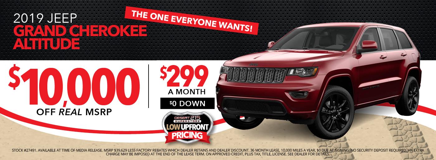 Las Vegas Chrysler Dodge Jeep Ram Dealers New Used Cars Financing Specials Desert 215 Super