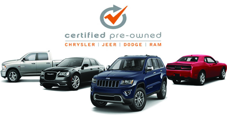 Certified Pre Owned Jeep >> Certified Pre Owned Chrysler Dodge Jeep Ram Vehicle Program